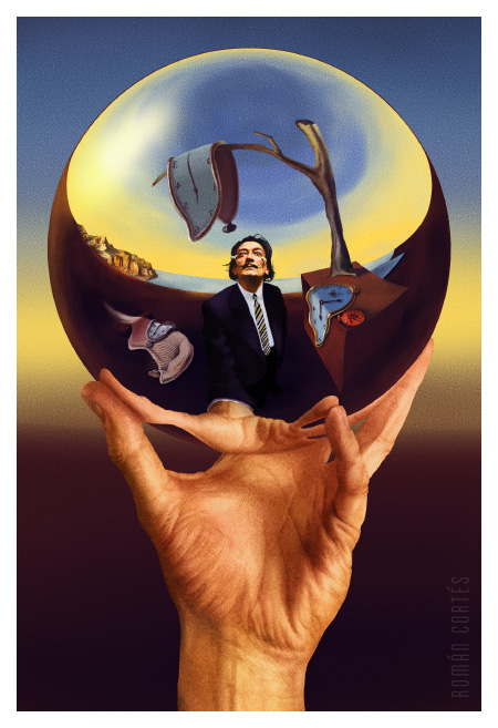 dali does escher Dali