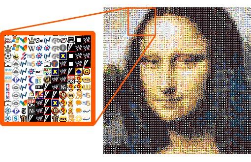 Crear fotos de mosaico 91