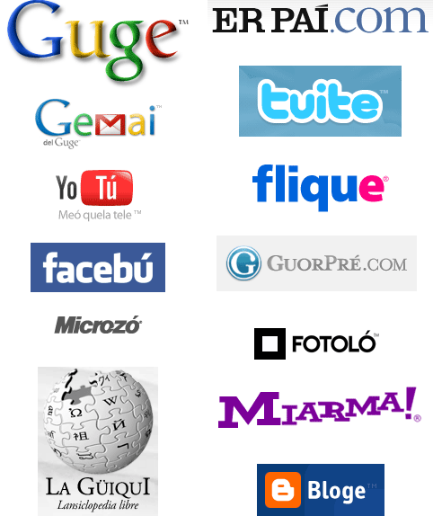 Logotipos en andaluz